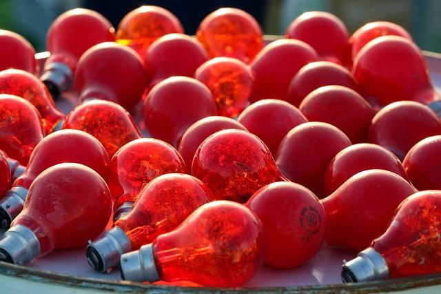 Rotlichtlampen